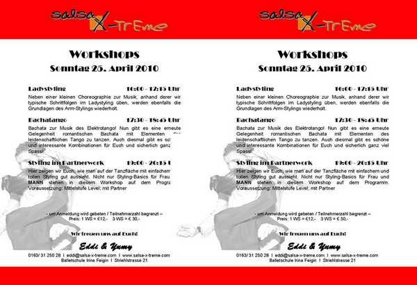 Salsa-X-Treme.com Salsaworkshops